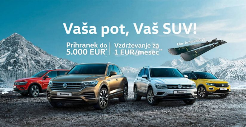 Akcijska ponudba Volkswagen SUV