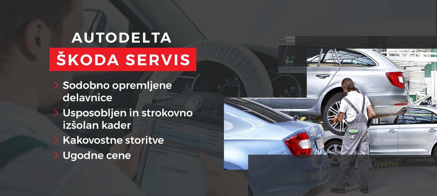 Škoda servis Autodelta Ljubljana