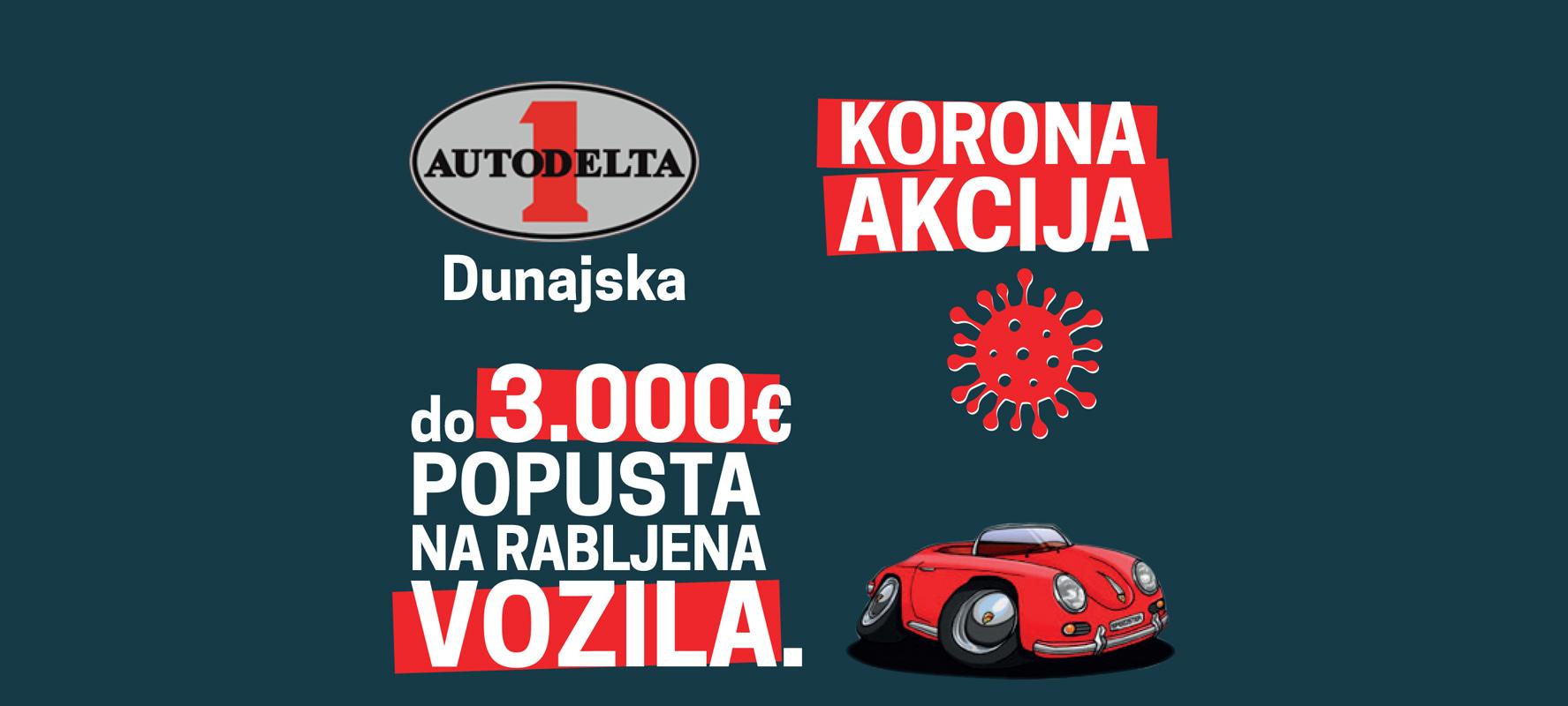Autodelta rabljena vozila - korona akacija